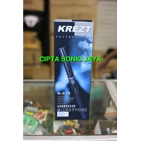Jual Mikrofon krezt k818 kondensor shotgun
