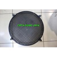 Jual grill speaker plastik 15 inch