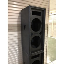 Box Speaker 12 Inch Dobel Plus Tweter Model Kotak lengkap ram