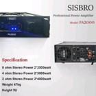Power Amplifier sisbro PA2000 2