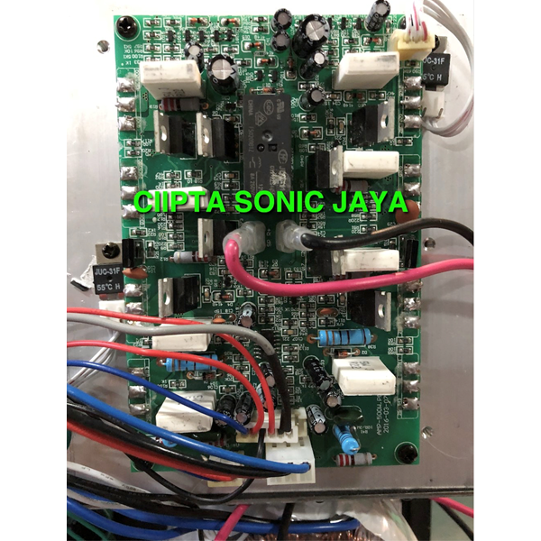 kit power aktif Amplifier subwofer apolo 18 inch 1000 watt