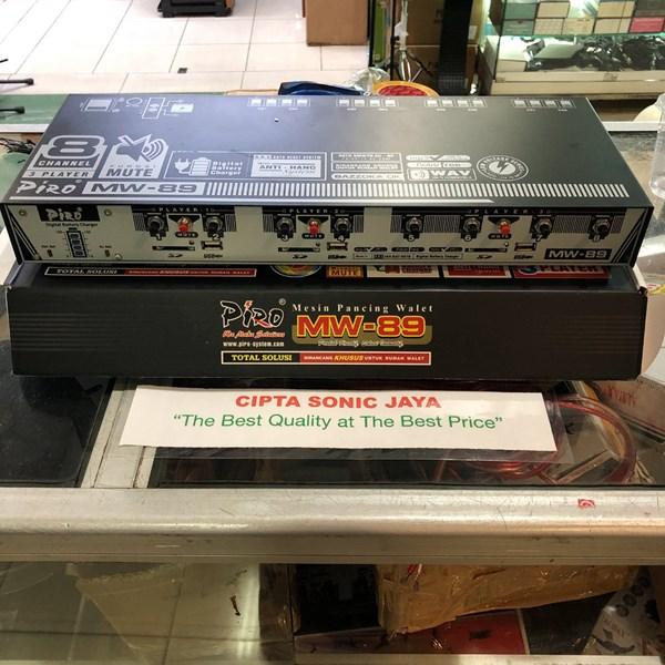 Amplifier walet piro MW89