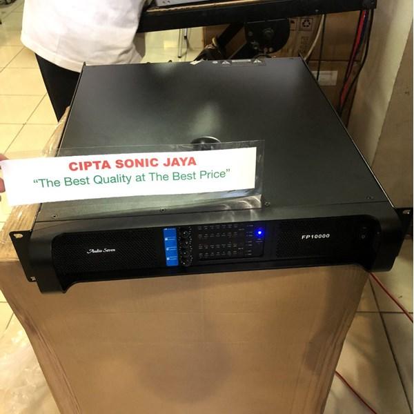 Amplifier power audioseven fp10000
