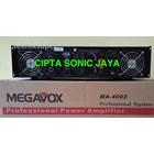 Amplifier megavox ma 4002        ma4002 4
