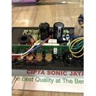 Kit Mesin Power Amplifier Aktif Polos HITAM 16 Cm X 40 Cm 2