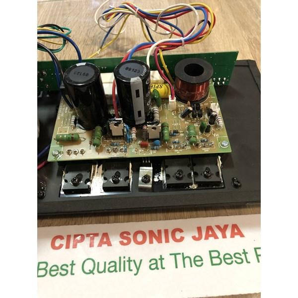Kit Mesin Power Amplifier Aktif Polos HITAM 16 Cm X 40 Cm