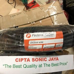 From kabel speaker federal kabel isi 4 x 2.5 tipe 4c 14 awg 3