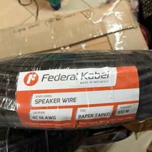 From kabel speaker federal kabel isi 4 x 2.5 tipe 4c 14 awg 0