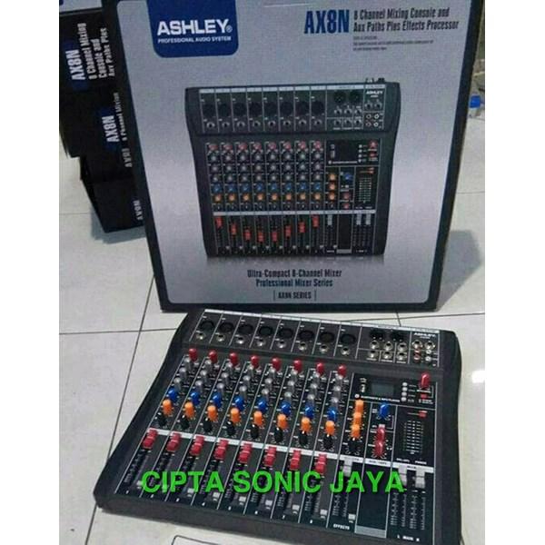 Mixer Audio Ashley AX8N 8 Canel Original Product AX 8N
