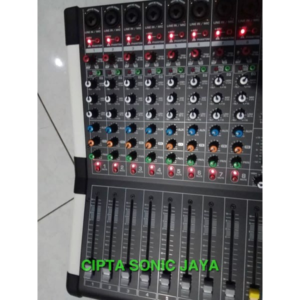 MIXER ASHLEY LMX8 8CH USB-BLUETOOTH ORIGINAL