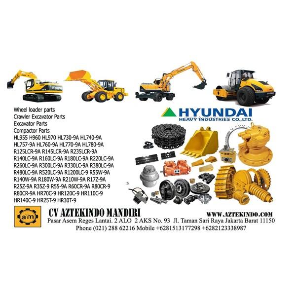 Hyundai Parts For Heavy Equipment