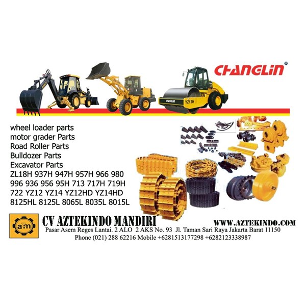 CHANGLIN HEAVY EQUIPMENT PARTS  Excavators