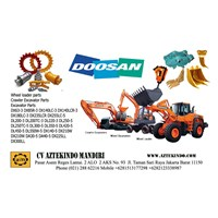 Jual DOOSAN HEAVY EQUIPMENT PARTS  Excavators