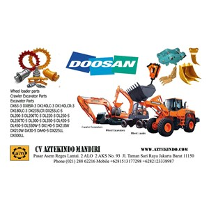 Sell DOOSAN HEAVY EQUIPMENT PARTS from Indonesia by CV  Aztekindo