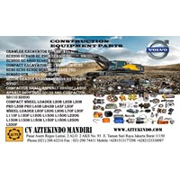 Jual VOLVO HEAVY EQUIPMENT PART  Excavators