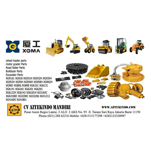 Spare Part Excavator XGMA Heavy Equipment Part