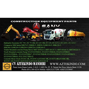 Spare Part Alat Berat Sany Heavy Equipment Parts
