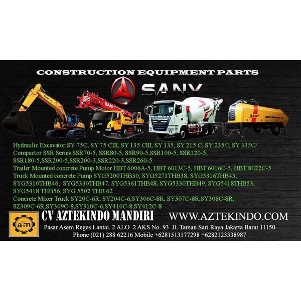 Spare Part Alat Berat Sany Heavy Equipment Parts