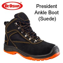 Sepatu Safety Dr Osha President Ankle Boot (Suede)