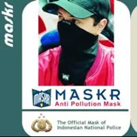 Jual Masker Anti Polusi MASKR - Tipe Panjang