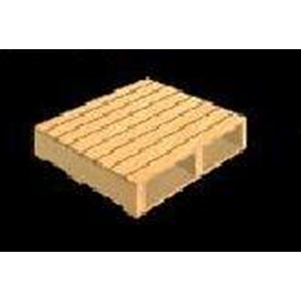 Pallet Kayu 110 X 106 X 13 Cm