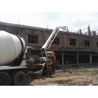 Mesin Beton Concrete Pump