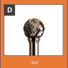 Mata bor bentuk bola (Procut Ball)