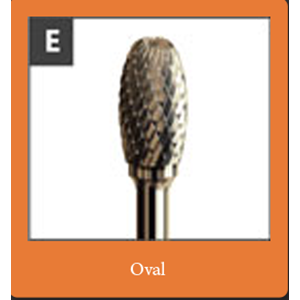 Mata tuner bentuk oval (Procut Oval)