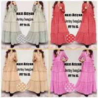 Jual Baju Muslim Maxi Aisyah