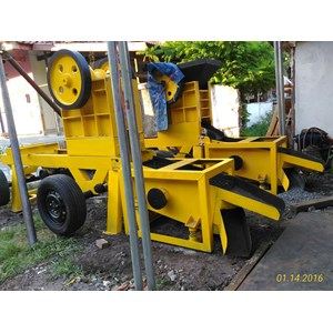 Mesin Stone Crusher Mini