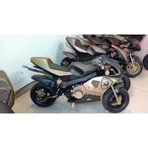 Jual Sepeda Motor Mini Trail Anak 50cc 2tak Harga Murah Anyer Oleh