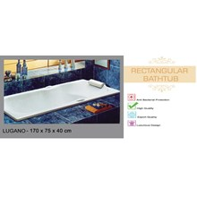 Bathtub Chrysolite Lugano 170