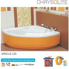 Bathtub Sudut Chrysolite Arielle 125