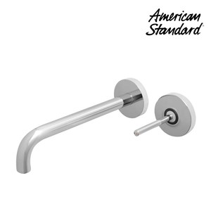 Keran wastafel berkualitas F073M112  american standard Wall mounted basin mixer Model IDS Natural
