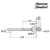 Jual keran wastafel berkualitas F072M112 american standard  2