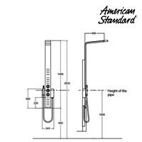 Jual Produk shower  berkualitas F070E116 american standard  2