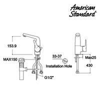 Jual Produk keran air F080C002 berkualitas American standard  2