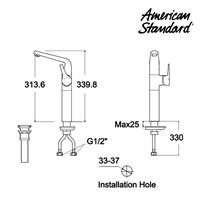Jual Produk keran air F080C092 American standard berkualitas  2