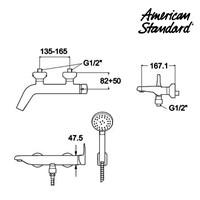 Jual Produk keran air F080D032 American standard berkualitas  2