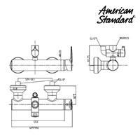 Jual Produk keran air F080E230 American standard berkualitas  2