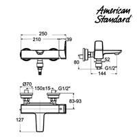 Jual Produk shower keran F069D032 berkualitas American standard  2