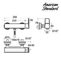 Jual Produk keran shower F069E092  American standard berkualitas  2
