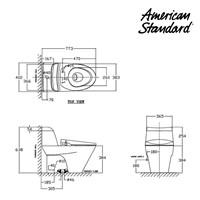 Jual Produk kloset kamar mandi VCN03610K berkualitas dengan fitur razor smart washer american standard  2