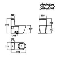 Jual Produk toilet HAA4YQC10 berkualitas american standard  2