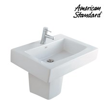 Produk wastafel dengan semi pedestal  GAA4A1C10 berkualitas american standard