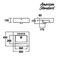 Jual Produk wastafel YAA4J6C10 berkualitas American standard  2