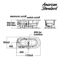 Jual Bathtub FAA4A5C10 2