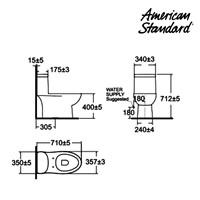 Jual Produk toilet ODO2HA10K American standard berkualitas  2