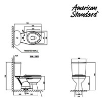 Jual Produk toilet WT04CAxxK American standard berkualitas  2