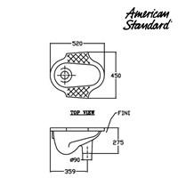 Jual Produk Toilet WAR0C4Dxx American standard berkualitas  2